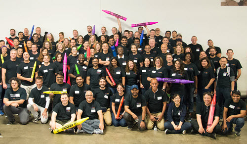 PK employees volunteered at Cradles to Crayons in Boston