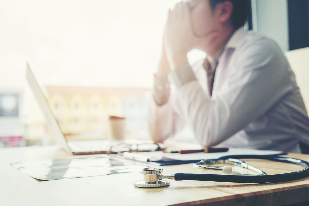 Physician burnout is an epidemic