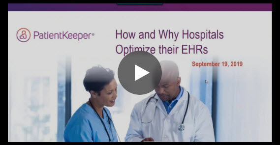 How and Why Hospitals Optimize their EHRs